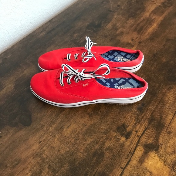 Keds Sport Red Slip On Sneakers